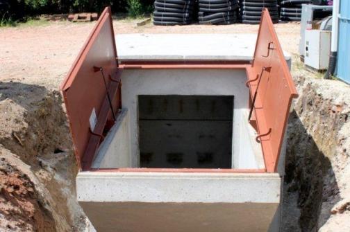 akron concrete containment vessels