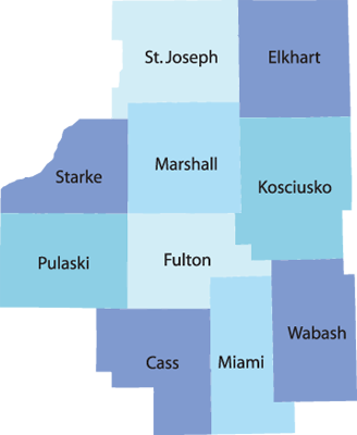 Akron Concrete Burial Vault Counties Served